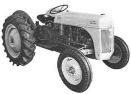 Antique Ford N-Series Tractor
