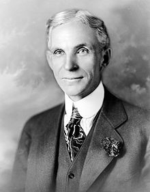 Henry Ford - Owner of Ford Agricultural Machinaries