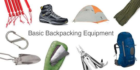 Back Packing Equipment