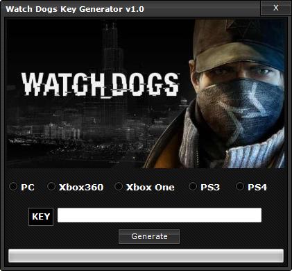 watch dogs keygen for PC Game Key