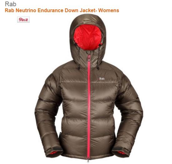 Rab Neutrino Endurance Down Jacket- Womens
