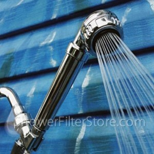 April Hand Held Shower Head for Hard Water