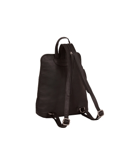 City Womens Backpack Purse Brown 'Ivy'