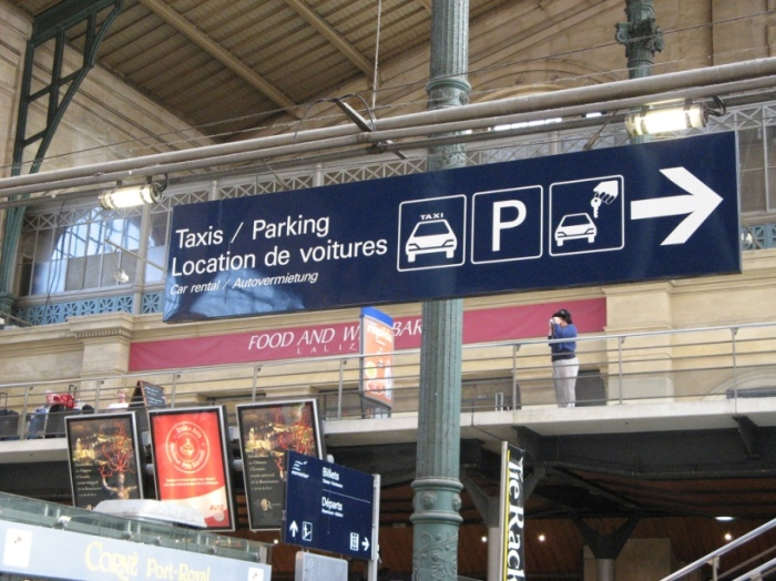 Taxi Services at Gare du Nord Train Station