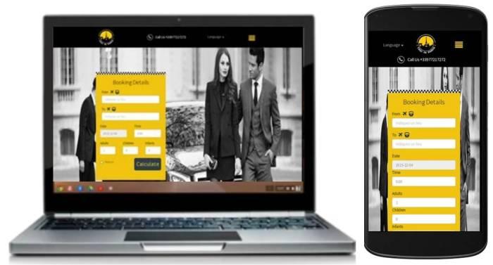 Online Paris Taxi Booking Service